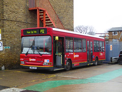 GAL LDP200 - SN51UAO - NSF - PM PECKHAM BUS GARAGE - THUR 15TH MAR 2018 (Bexleybus) Tags: goahead go ahead london pm peckham bus garage blackpool road adl dennis dart ldp200 sn51uao tfl route p12