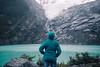 In Thrall Of The Glacier (kirstin.devens) Tags: 2018 march portraits canoneos70d sigma1835 ice glaciers huemulglacier elchalten blue glacierlake argentina patagonia santacruz losglaciaresnationalpark