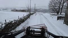Snow March 18th 2018 010 (Mark Schofield @ JB Schofield) Tags: schofield scrap jcb 411 snow plough drift ice linthwaite huddersfield colne valley beast east winter weather
