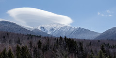 Lenticular Cloud over Mount Jefferson, New Hampshire (jtr27) Tags: dscf7248xl2 jtr27 fuji fujifilm fujinon xe2s xe2 xtrans xf 50mm f2 f20 rwr wr mountjefferson mtjefferson presidential range newhampshire nh landscape lenticular cloud castleridge castleravine whitemountains winter