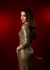Kait Gold Glamour (Ms Stacy) Tags: youngwoman dress formal gold sequin red backdrop background glamour fashion longhair lookingovershoulder