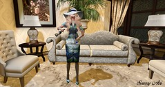 I.M. Collection Salvadore Dali dress (olyviadecuir) Tags: imcollection besomexreign catwa chopzueycouture deetalez empyreanforge facepaint maitreya mosquitosway lushposes shopping mesh meshbody meshhead meshhat olyviadecuir highquality highfashion sexy spring