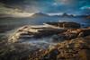 Elgol (jasonhudson2) Tags: elgol skye scotland seascape water sony longexposure mountain clouds light landscape