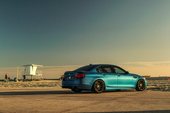 BMW F10 M5 on TSW Bathurst rotary forged wheels - 5 (tswalloywheels1) Tags: blue bmw f10 m5 5series lowered coilvers hr staggered concave 20x9 20x105 rotary forged flow form aftermarket wheels wheel rim rims alloy alloys tsw bathurst