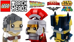 More Amazing Brickheadz Lego Should Make !!! (afro_man_news) Tags: brickheadz lego minifigures moc minifigure luke skywalker ninjago nya garmadon batman movie joker c3po despicable me felonious gru albert einstein anakin star wars ariel xmen wolverine bact future toy story super mario pokemon ash ketchum predator darth vader how train your dragon karate kid custome fake all