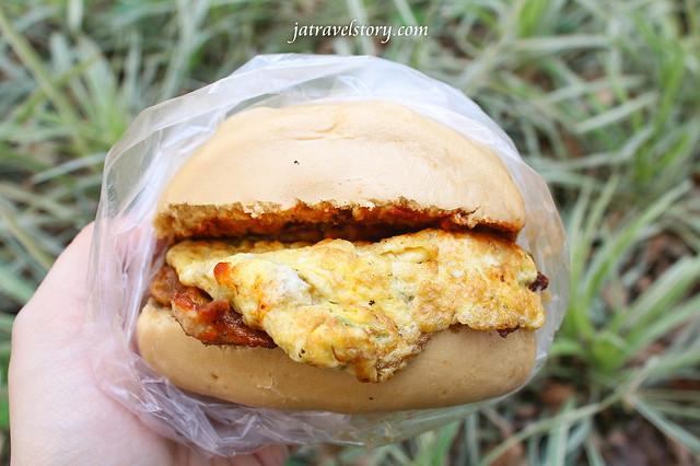 家蓁早餐店 份量十足的土雞肉饅頭蛋只要40元!【捷運忠孝復興】東區早餐店推薦 @J&A的旅行