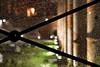 Trasparenze (luporosso) Tags: luce light notte night vetro glass vetrorotto brokenglass roma rome italia italy foriimperiali ruderi storia history