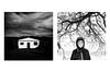 (Antonio Gutiérrez Fotografía) Tags: antoniogutierrezfotografia dinamocoworking diptico retrato conceptual concept blancoynegro blackandwhite miedo