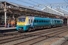 ATW 175 010 at Crewe (daveymills31294) Tags: atw 175 010 crewe class dmu arriva trains wales alstom coradia