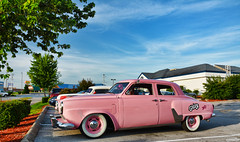 The Pink Lady (Chad Horwedel) Tags: thepinklady studebaker stude classic car custom hrpt17 bowlinggreen