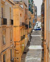 Maltese steps (M McBey) Tags: valletta malta stair steps street city
