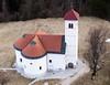 Kite above St. Volbenk church (kap_jasa) Tags: kiteaerialphotography kite flying church volbenk aerial stwolfgangofregensburg renaissance 1680 nikon zelse cerknica slovenia