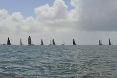 LOX_3893 (Lox Pix) Tags: australia queensland brisbanetogladstone yachtrace catamaran trimaran 2018 bossracing multihull loxpix moretonbay shorncliffe cabbagetreecreek rudder aground sailing loxworx