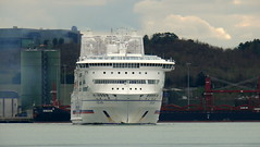 18 03 31 Pont Aven Cork (11) (pghcork) Tags: brittanyferries pontaven ferry ferries carferry corkharbour cork cobh ringaskiddy 2018
