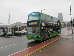 BD12TCZ - 36278 - First Gemini moving from Leeds to Sheffield (DJN...) Tags: sheffield bus first firstgroup yorkshire firstleeds gemini transfer