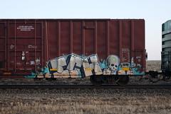 Ich (quiet-silence) Tags: graffiti graff freight fr8 train railroad railcar art ich ichabod yme circlet boxcar coer coer172072