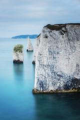 The Pinnacles (Rich Walker75) Tags: dorset landscape landscapes landscapephotography cliffs cliff sea seaside seascapes seascape longexposure longexposures canon england efs1585mmisusm eos eos80d coast coastline coastal water ocean blue ice rock sky