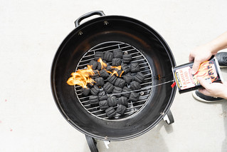 Grill Photoshoot With Plenty Of Fire