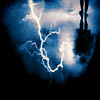 and I shall fear no evil (jackaloha2) Tags: lightning storm storms clouds reflection night fear fears rain wet