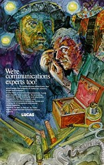 Lucas Advertisement (British Motor Industry Heritage Trust Archive) Tags: lucascollection lucas advertisement socialhistory vintage history theatre arts shakespeare