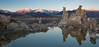 Early does it (Squirrel Girl cbk) Tags: 2018 california easternsierra february monolake reflection snow tufa tufapinnacles leevining unitedstates us