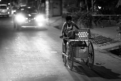 The Young Anda-Wala (N A Y E E M) Tags: boy seller eggs cart candid latenight lastnight light availablelight atmosphere street mehdibagh chittagong bangladesh windshield