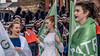 BACKSTAGE AND BEFORE THE PARADE [SAINT PATRICK DAY PARADE IN DUBLIN 2018]-137344 (infomatique) Tags: saintpatricksdayparade 17thmarch stpatricksfestival dublin williammurphy sonya7r111 sony28135mmlens infomatique fotonique marchingband verycoldday snow beforetheparade behindthescenes backstage