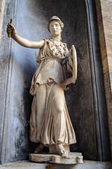 Statue der Athene (Markus Wollny) Tags: city vatikan rom cittàdelvaticano vatikanstadt it