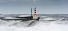 Rough Seas (ianbrodie1) Tags: amble pier lighthouse northumberland sea seascape rough seas water waves ocean coast storm coastline leefilters
