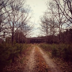 down the lane (History Rambler) Tags: old abandoned antebellum plantation house home rural south vacant decay history historic nc lost forgotten
