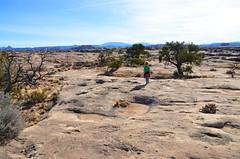 On The Slickrock Trail (Joe Shlabotnik) Tags: proudparents nationalpark utah hiking sue 2017 justeverett canyonlands everett november2017 canyonlandsnationalpark afsdxvrzoomnikkor18105mmf3556ged