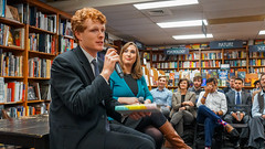2018.03.20 Sarah McBride and Rep Joe Kennedy, Politics and Prose, Washington, DC USA 4110