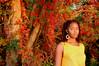 Golden Light (Mehretube) Tags: nubian beautiful girl woman black sunrise centre island centreisland fall leaves