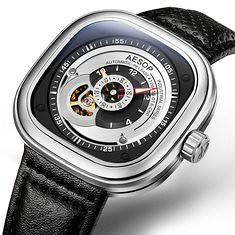 AESOP 9023 Industrial Series Automatic Mechanical Watches (1268483) #Banggood (SuperDeals.BG) Tags: superdeals banggood jewelry watch aesop 9023 industrial series automatic mechanical watches 1268483