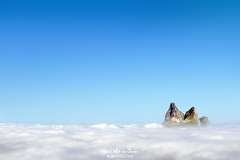 Midi d'Ossau (Mimadeo) Tags: mountain copyspace landscape pyrenees midi nature blue sky fog morning pirineos france ossau summer spring travel peak background outdoors high view beautiful nobody europe top scenic day empty sunny clouds bright vibrant color horizon scenery wallpaper backgrounds
