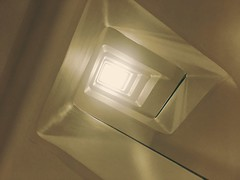 Steps Into The Light (Deydodoe) Tags: london 2018 england unitedkingdom uk spiritual light abstract stairs staircase stairwell building architecture
