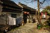 (Dubai Jeffrey) Tags: china bin bluesky earlyspring gate home house jiangsu lanterns laundry rural suzhou tree
