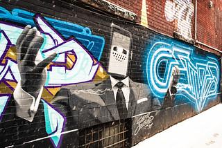Graffiti Alley - Snow