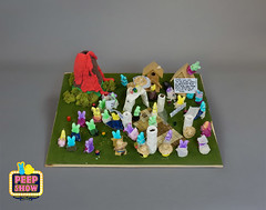 54-PEEP Pompeii (Carroll Arts Center) Tags: carroll county arts council 2018 peepshow a display marshmallow masterpieces featuring more than 150 sculptures dioramas graphic oversized characters mosaics created inspired by peepsâ®