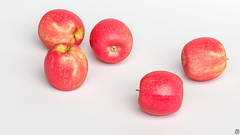 Apple 3D model (ZB-Vision) Tags: apple 3d model appletree fruit orchard maluspumila red pink lady pome round seed malus edible sweet cultivated c4d apfel fbx eple life mar nature alma obj protection secure jabuka pomme manzana jabloko mela