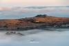 Enshrouded (http://www.richardfoxphotography.com) Tags: pewtor pew sunrise mist misty fog foggy inversion seafog granite tor moorland dartmoornationalpark dartmoor cottage farm sky outdoors trees tree farmland