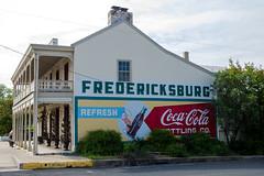 Downtown Fredericksburg (thetford569) Tags: fredericksburg texas hill country murual coke