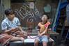 (kuuan) Tags: indonesia voigtländerheliarf4515mm manualfocus mf voigtländer15mm aspherical f4515mm superwideheliar apsc sonynex5n surabaya oldquarters street jawa eastjawa kids smoking hooka