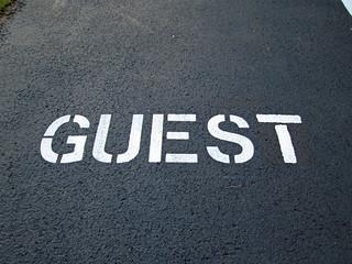 Guest Parking Spot.