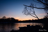 Sunset on the Black River 3 (makleen) Tags: sunset blackriver jeffersoncounty newyork dexter river water silhouette goldenhour