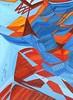 Una Maschera nello Spazio #08 - Artist: Leon 47 ( Leon XLVII ) (leon 47) Tags: abstract painting metaphysical metafisica metaphysics enigma surrealism surrealismo triangulism art triangolismo arte astratta windows finestre minimalism minimalismo maschera mask leon 47 xlvii space spazio