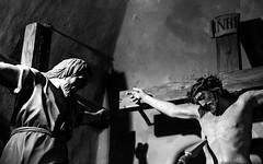 Venerdì santo (drugodragodiego) Tags: cerveno vallecamonica provinciadibrescia lombardia italy art sculpture viacrucis legno wood blackandwhite blackwhite bw biancoenero pentax pentaxk1 k1 pentaxdfa2470mmf28 hdpentaxdfa2470mmf28edsdmwr