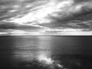Monochrome sur l'océan !!!