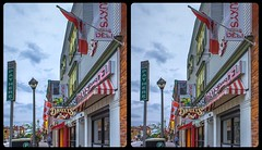 Niagara shop street 3-D / CrossEye / Stereoscopy / HDR / Raw (Stereotron) Tags: north america canada province ontario niagara streetphotography crosseye crosseyed crossview xview cross eye pair freeview sidebyside sbs kreuzblick 3d 3dphoto 3dstereo 3rddimension spatial stereo stereo3d stereophoto stereophotography stereoscopic stereoscopy stereotron threedimensional stereoview stereophotomaker stereophotograph 3dpicture 3dglasses 3dimage twin canon eos 550d yongnuo radio transmitter remote control synchron kitlens 1855mm tonemapping hdr hdri raw