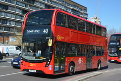YX18 KPA (EH215) Go-Ahead London Central (hotspur_star) Tags: londontransport londonbuses londonbus londonbuses2018 alexanderdennisltd enviro400hmmc tfl transportforlondon hybridbus hybridtechnology busscene2018 doubledeck goaheadlondoncentral yx18kpa eh215 40